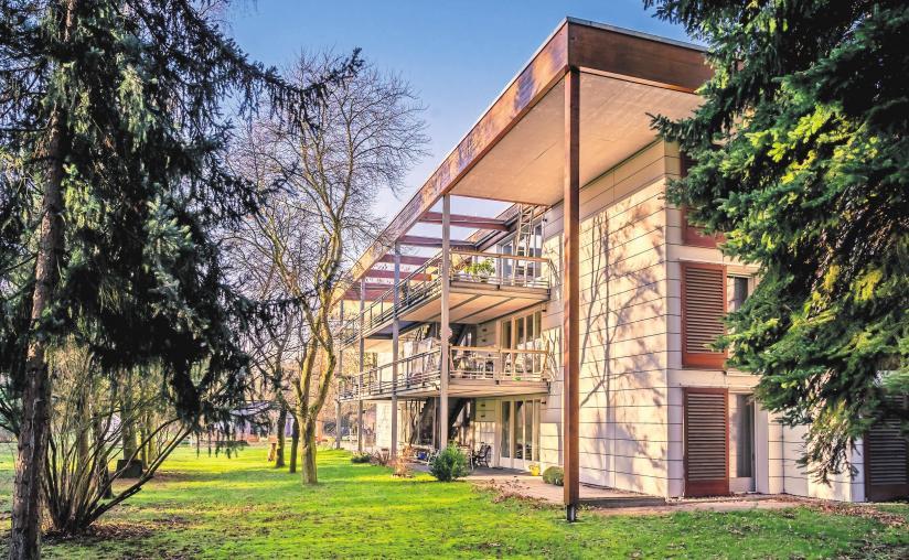 """Wohnhaus """"Prof. Peter-Uibe"""" Foto: Humanitas"""