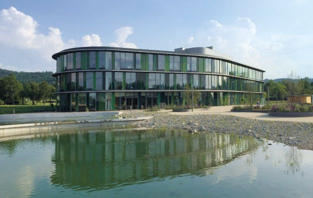 Abb. 2: Der Labor-Neubau wurde Ende April 2017 fertiggestellt. © Drees & Sommer