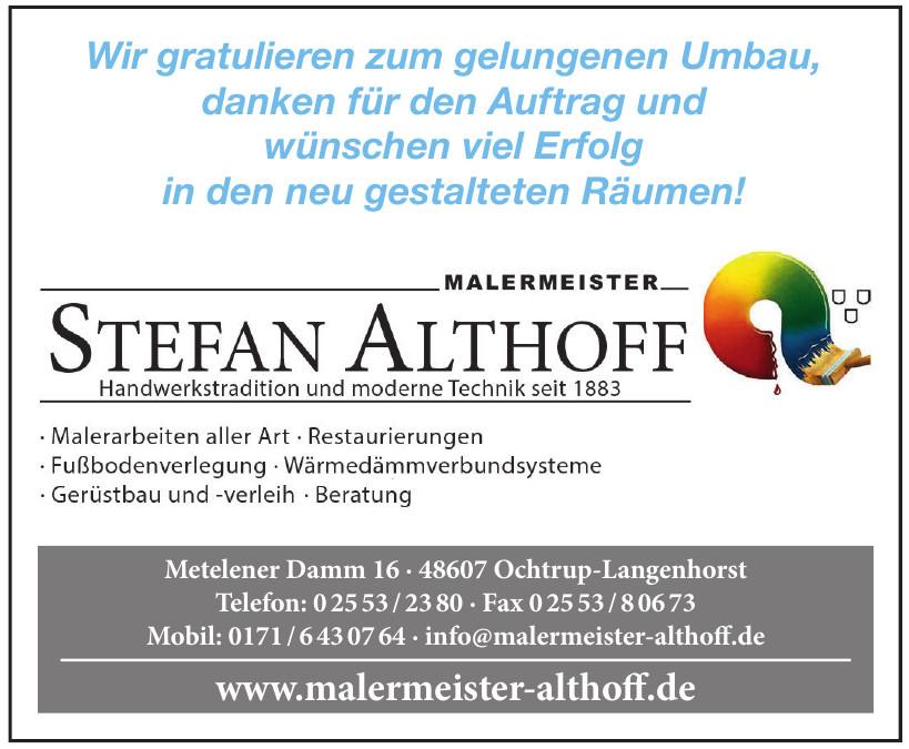 Stefan Althoff Malermeister