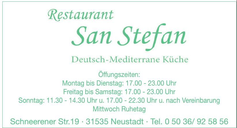 Restaurant San Stefan