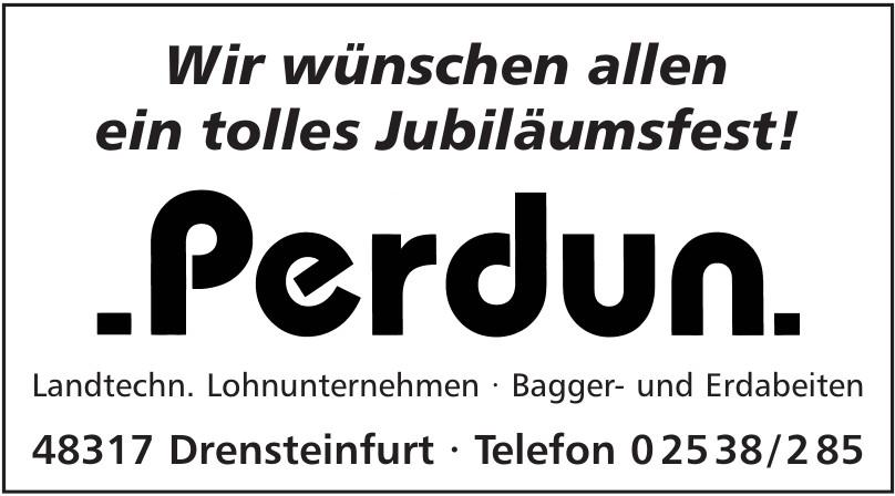 Perdun, Landtechn. Lohnunternehmen, Bagger- und Erdabeiten