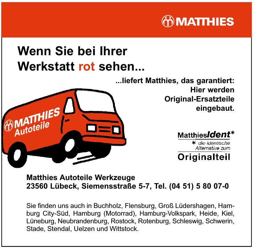 Matthies Autoteile Werkzeuge