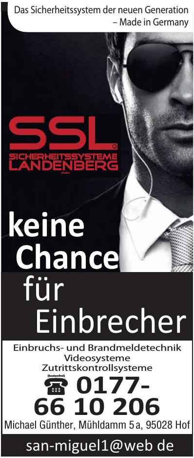 SSL Sicherheitssysteme Landenberg