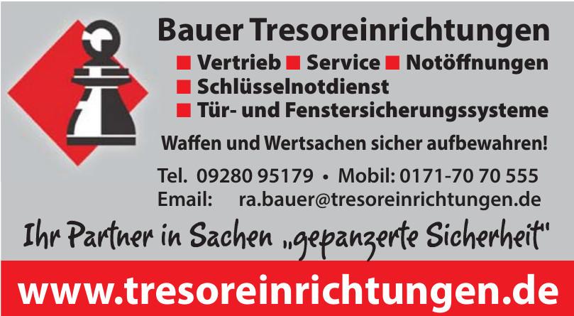 Bauer Tresoreinrichtungen