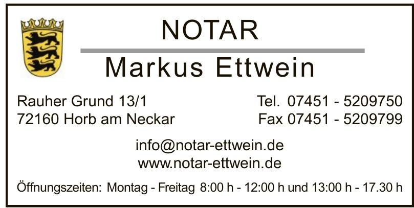 Notar Markus Ettwein