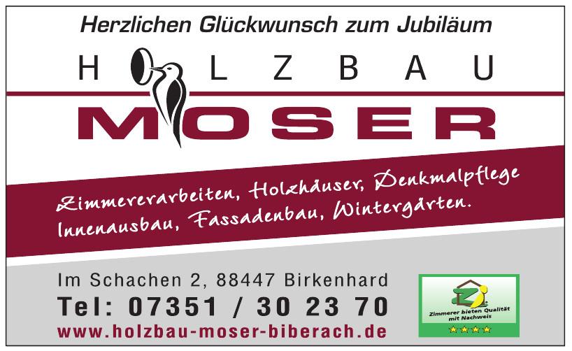 Holzbau Moser