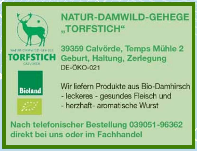 """Natur-Damwild-Gehege """"Torftisch"""""""