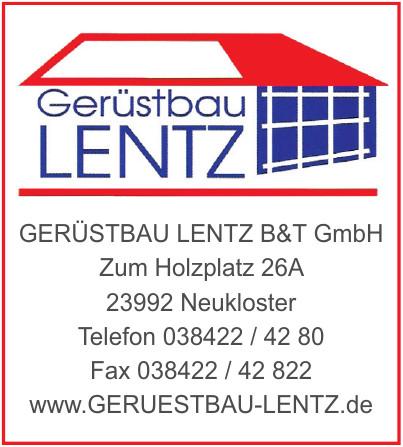 Geruestbau Lentz B&T GmbH
