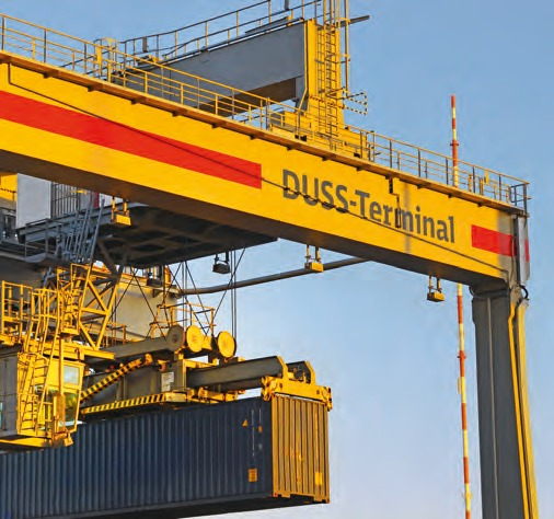With its infrastructure and technical equipment the Duss Terminal in Hamburg counts one of the most modern terminals in Europe.
