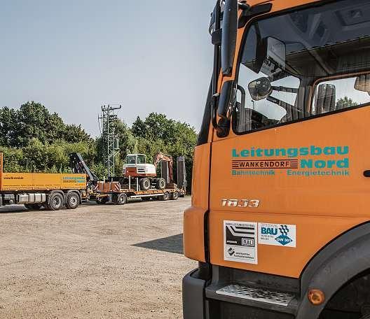 Die Leitungsbau Nord GmbH gehört zu den führenden Unternehmen für die Errichtung von Energieverteilungs- und Signalanlagen bei regionalen Energieversorgern, Stadtwerken, Industriekunden und der Deutschen Bahn AG.     FOTO: MATTHIAS KOCH
