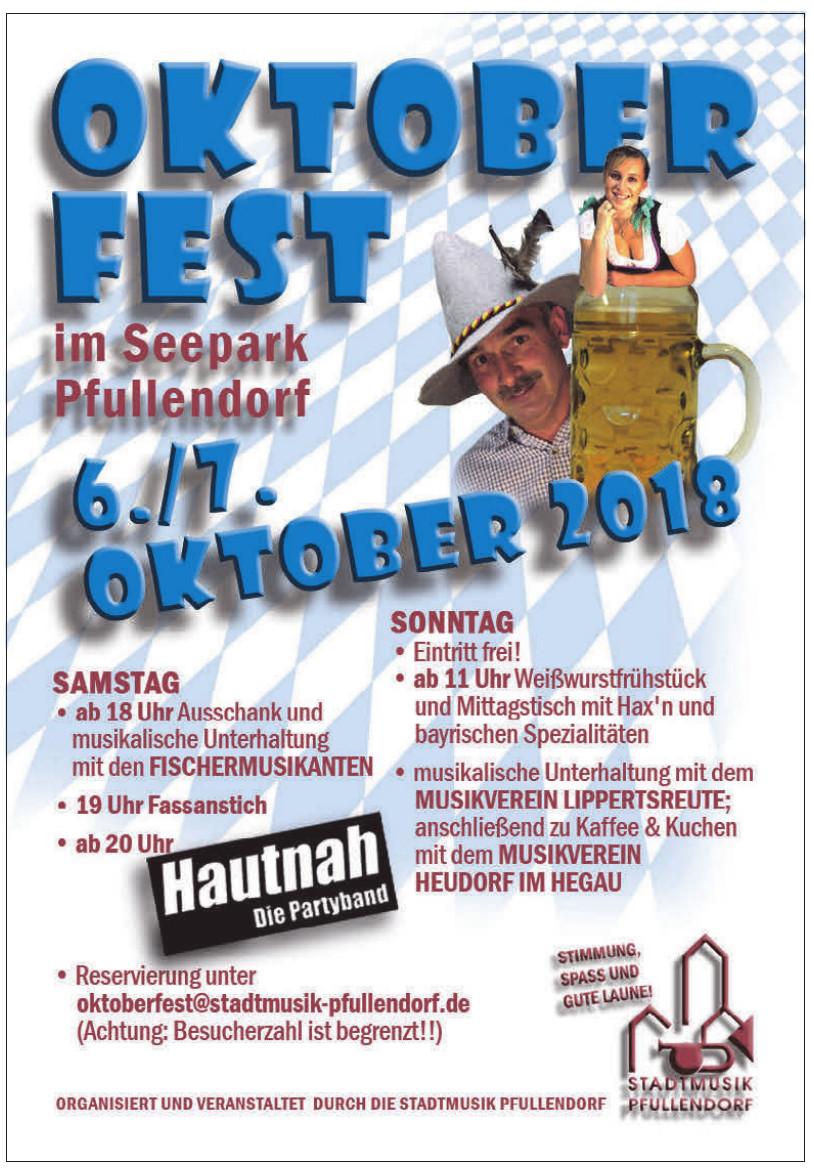 Oktober Fest im Seepark Pfullendorf
