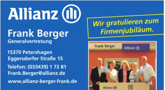 Allianz Generalvertretung Frank Berger