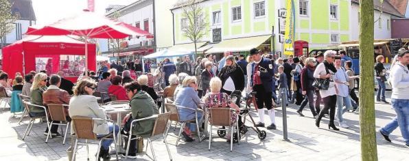 Herrliches Wetter und zahlreiche Besucher werden in Schwabmünchen wieder erwartet. Foto: Ingrid Küchle