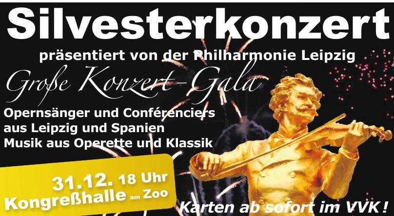Silvesterkonzert Philharmonie Leipzig