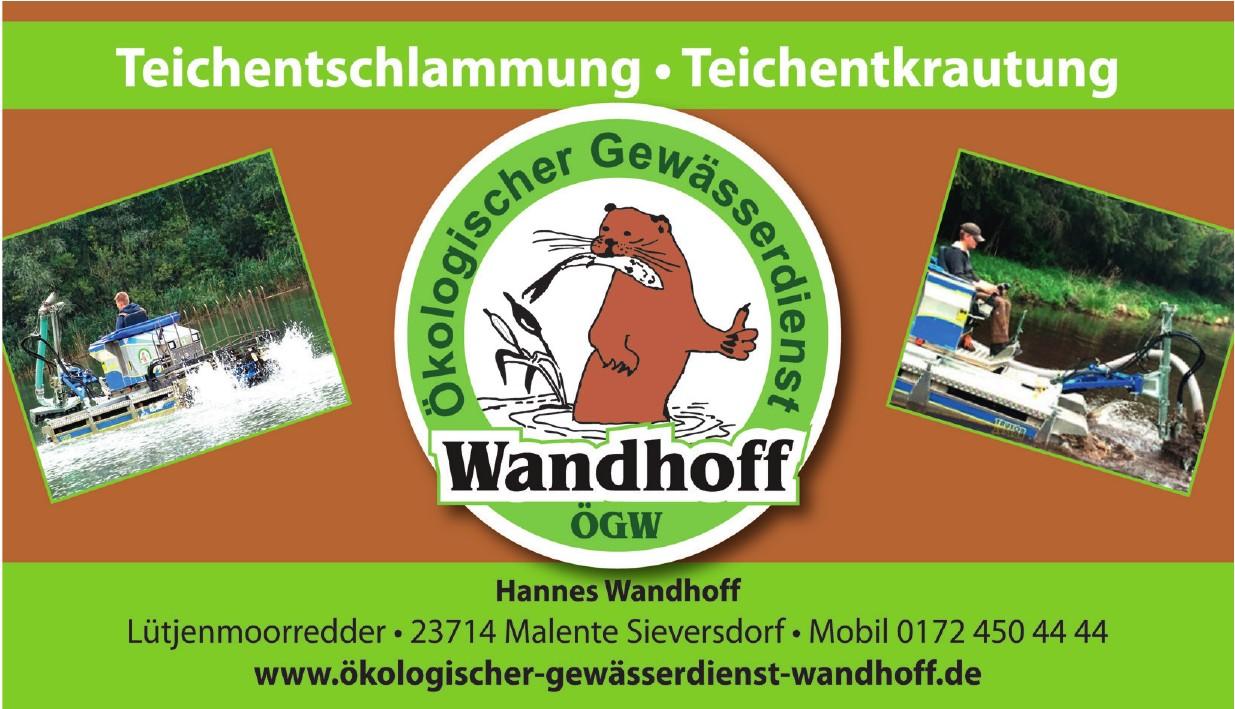 ÖGW Ökologischer Gewässerdienst Wandhoff