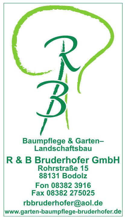 Baumpflege & Garten– Landschaftsbau R & B Bruderhofer GmbH