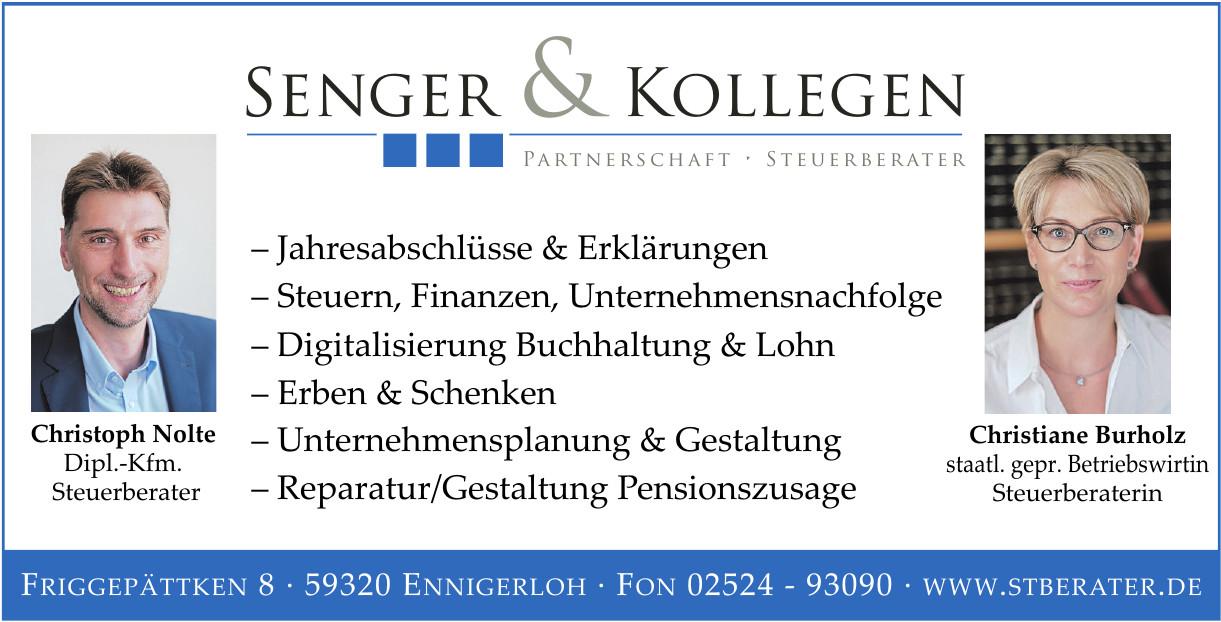 Senger & Kollegen Partnerschaft - Steuerberater