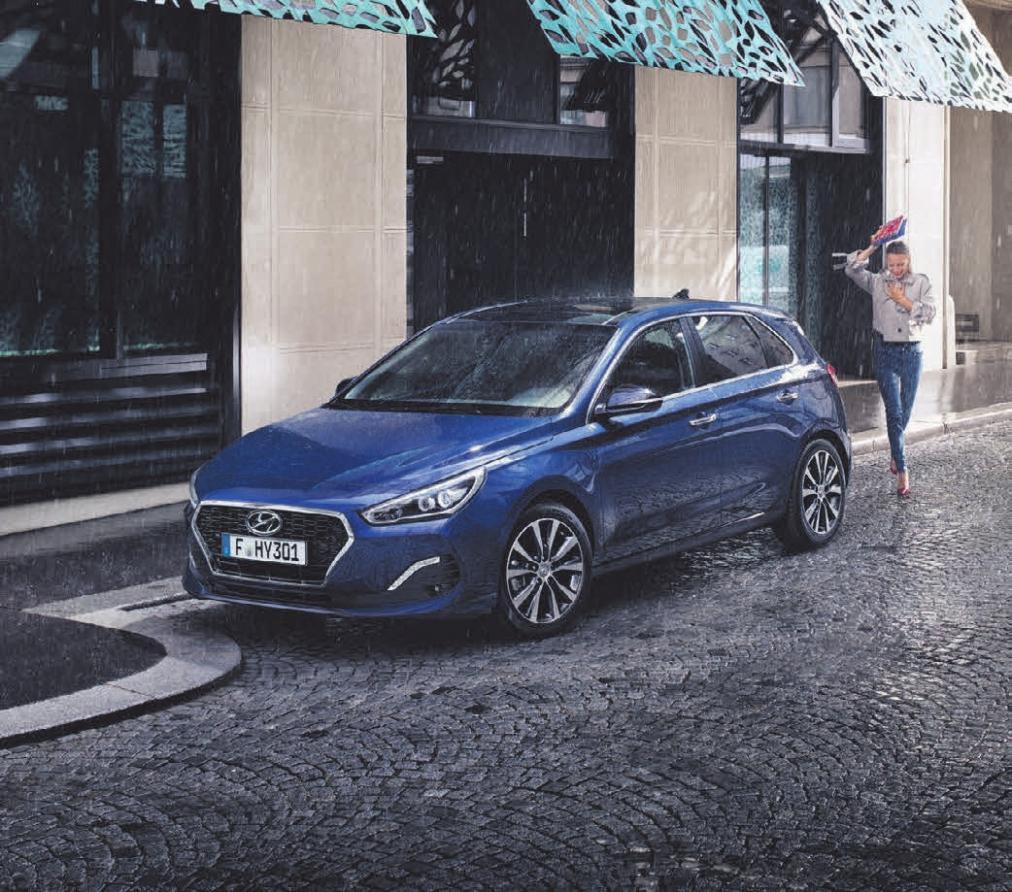 Sportlich und dynamisch: der Hyundai i30. FOTO: HYUNDAI