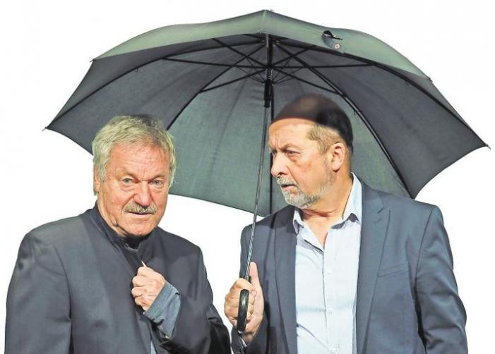 """da capo"" v.l.: Burkhard Damrau, Dieter Richter Foto: M. Zwiener"