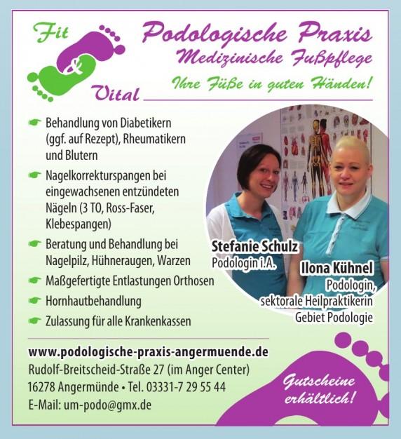 Podologische Praxis Medizinische Fußpflege