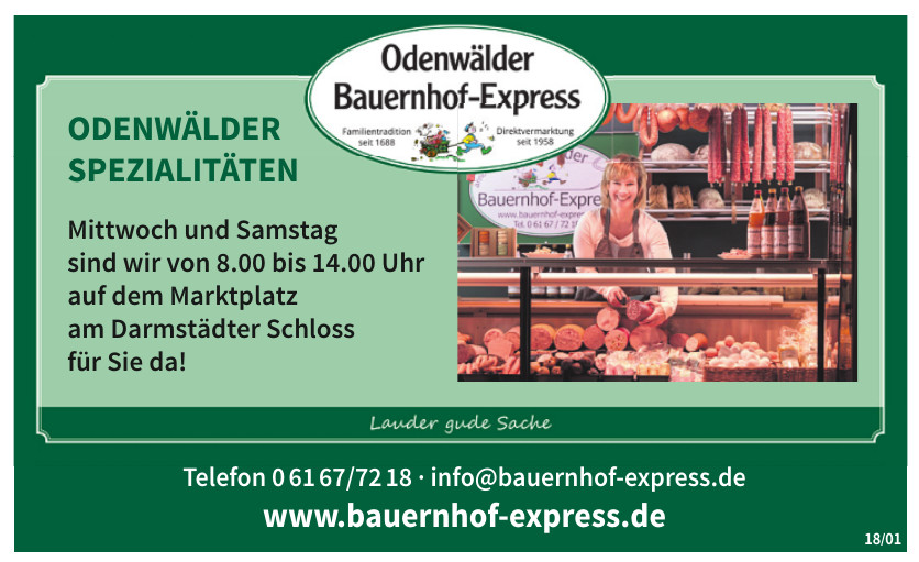 Odenwälder Bauernhof-Express