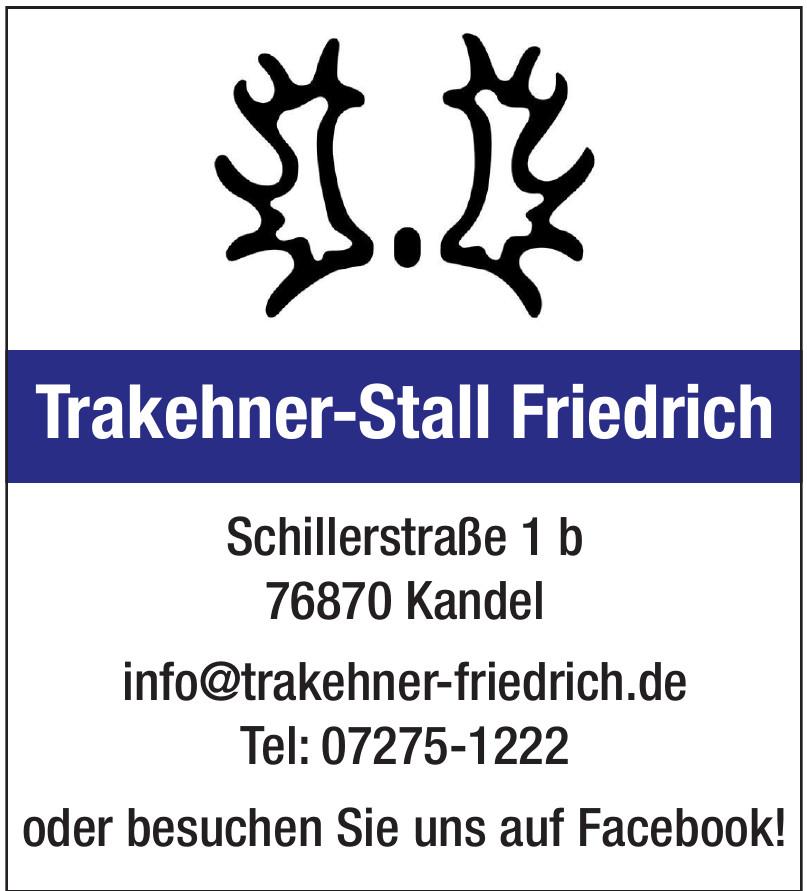Trakehner-Stall Friedrich