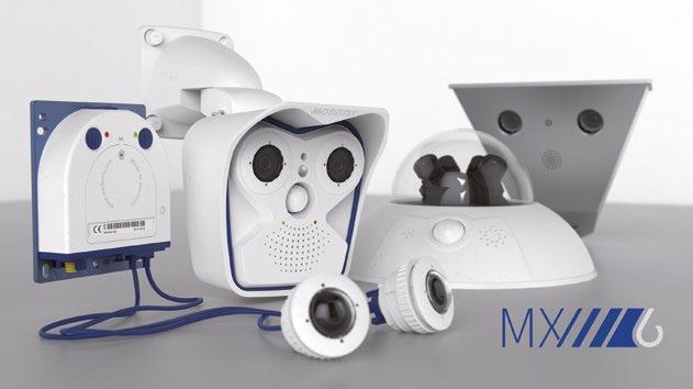 Sichern Außenbereiche: Mx6 Dualkameras von Mobotix
