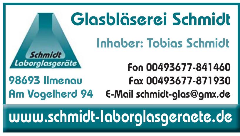 Glasbläserei Schmidt