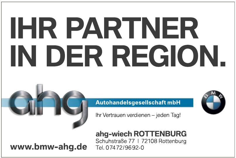 ahg-wiech Rottenberg Autohandelsgesellschaft mbH