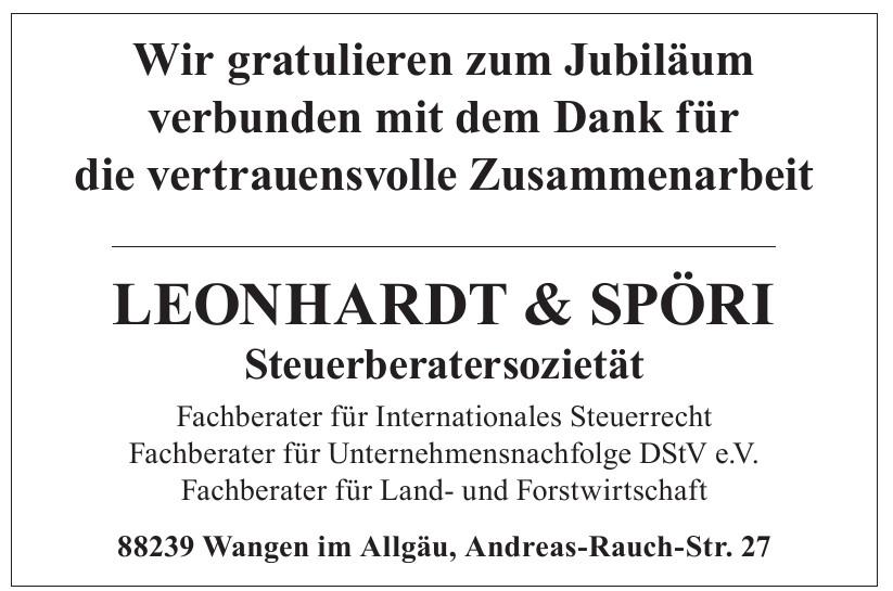 Leonhardt & Spöri - Steuerkanzlei