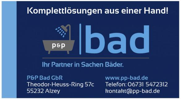 P & P  Bad