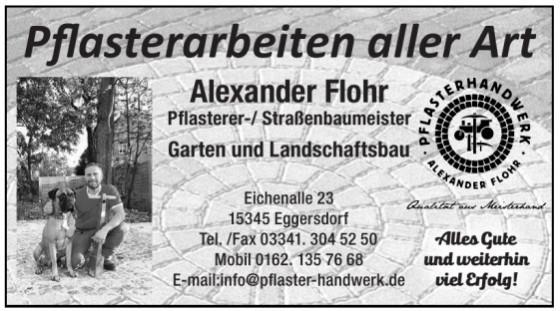 Pflasterarbeiten aller Art Alexander Flohr