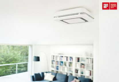Der Twinguard Rauchwarnmelder mit Luftgütesensor von Bosch