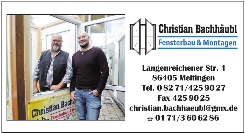 Christian Bachhäubl Fenserbau & Montagen