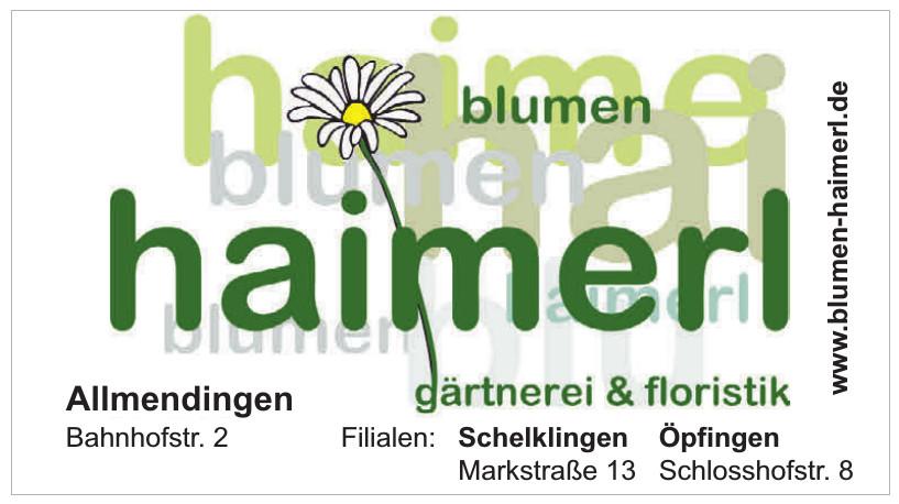 Blumen Haimerl
