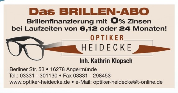 Optiker Heidecke