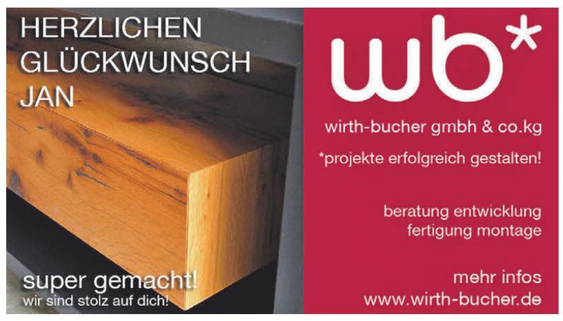 Schreinerei Wirth - Bucher