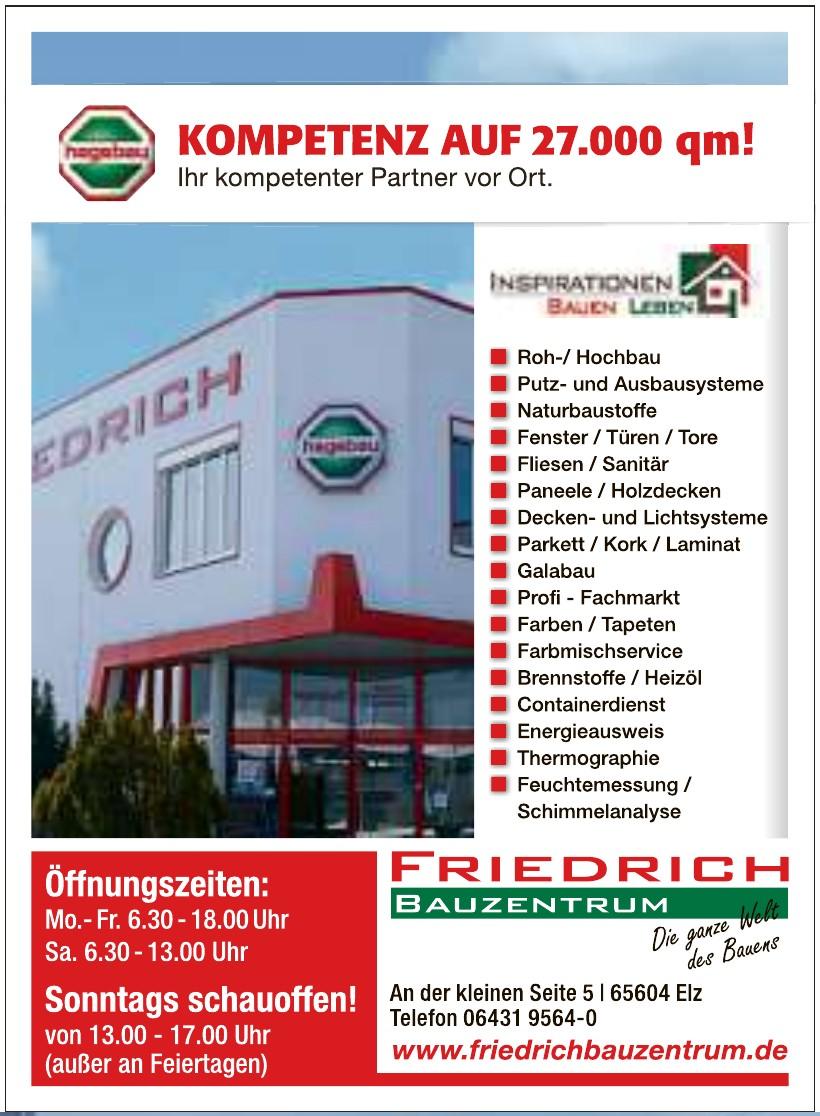 Friedrich Bauzentrum