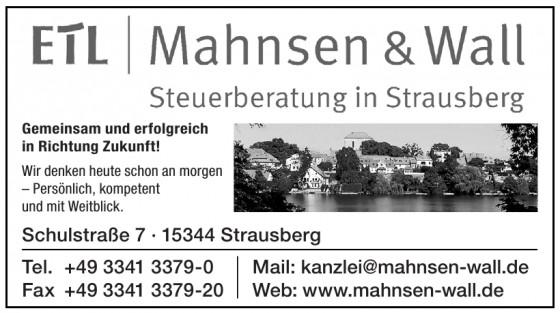 Mahnsen & Wall Steuerberatungsgesellschaft mbH