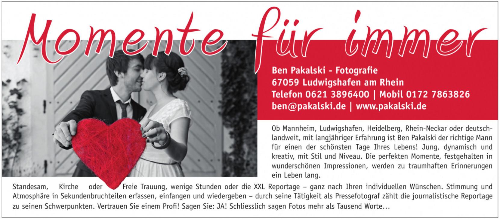 Ben Pakalski - Fotografie