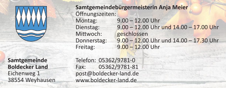 Samtgemeinde Boldecker Land