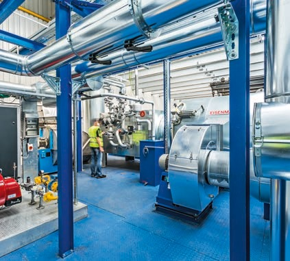 The Dena award is a testimony to the outstanding efficiency of the new Coating Centre. This is made possible by state-of-the-art production technology.