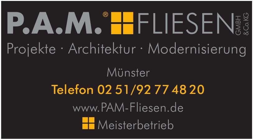 P.A.M. Fliesen GmbH &Co. KG
