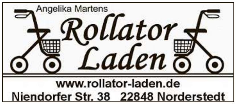 Rollator Laden - Angelika Martens