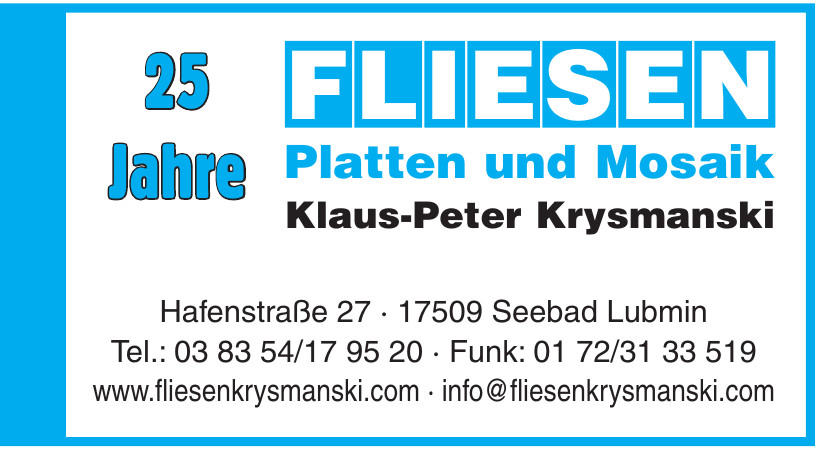 Klaus-Peter Krysmanski Fliesen