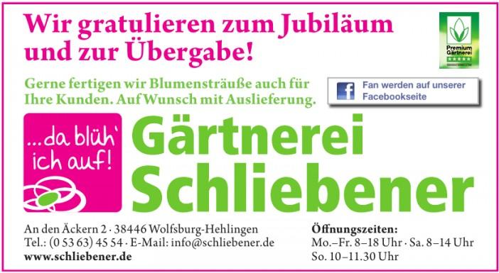Gärtnerei Schliebener