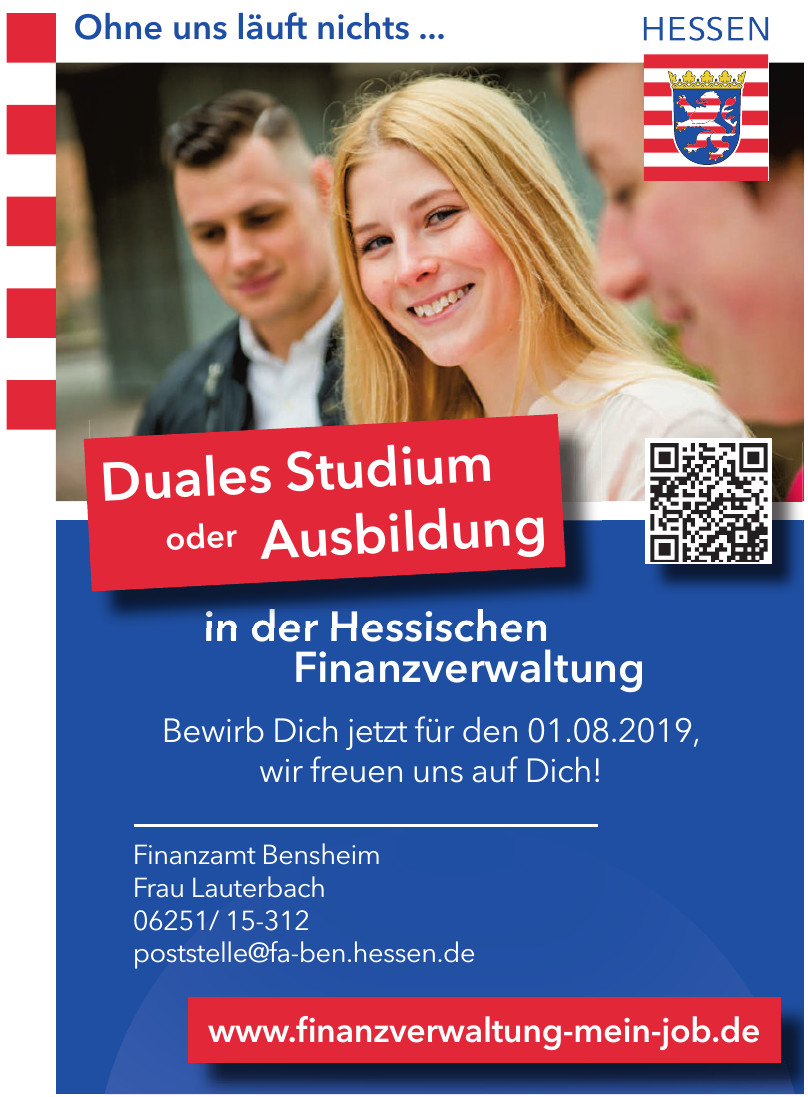 Finanzamt Bensheim - Frau Lauterbach