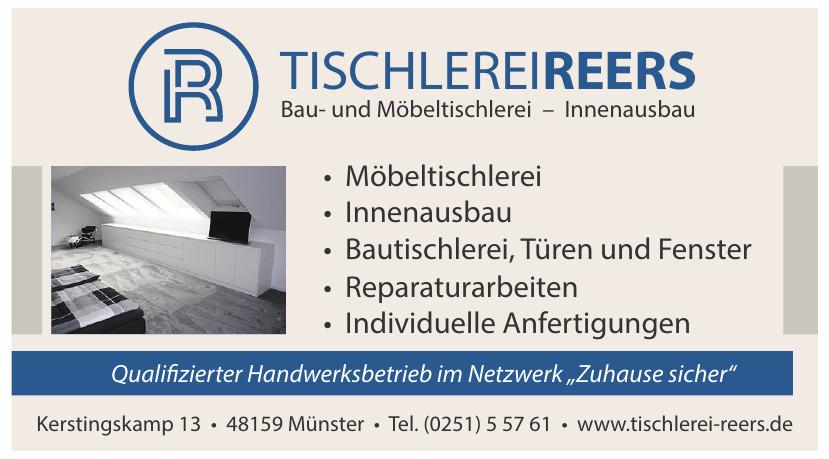 Tischlerei Reers Bau- und Möbeltischlerei – Innenausbau