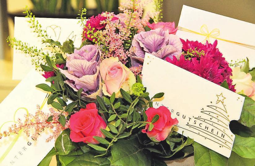 Für die Geschenk-Gutscheine stehen Umschläge mit Motiven zu unterschiedlichen Anlässen zur Verfügung.