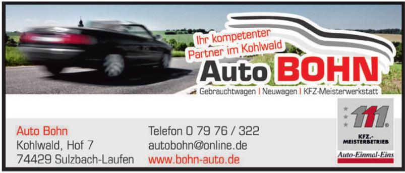 Auto Bohn